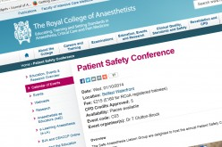 17th- British Ophthalmic Anaesthesia Annual Scientific Meeting 2014