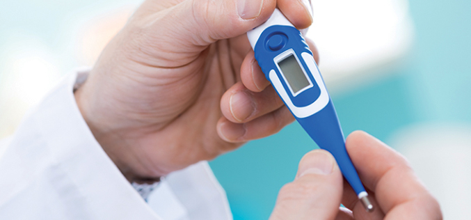 Temperature measurement in anaesthetised patients