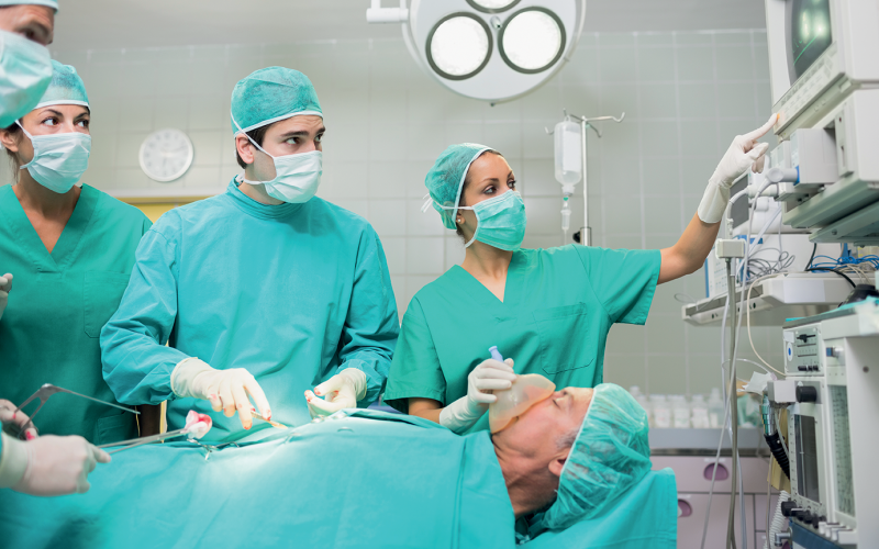 Elderly patients often receive too much anaesthesia for