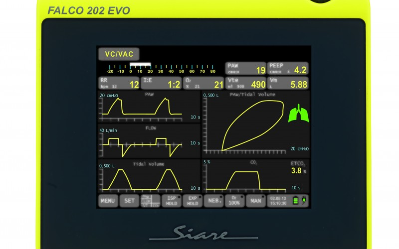 FALCO 202 EVO® Transport Ventilator – Safe and effective ventilation