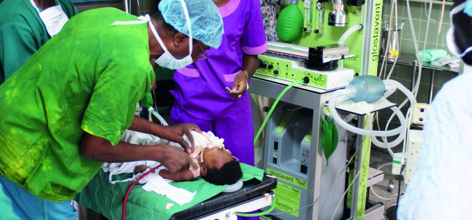 SAWW – Delivering anaesthesia to the world's poorest people