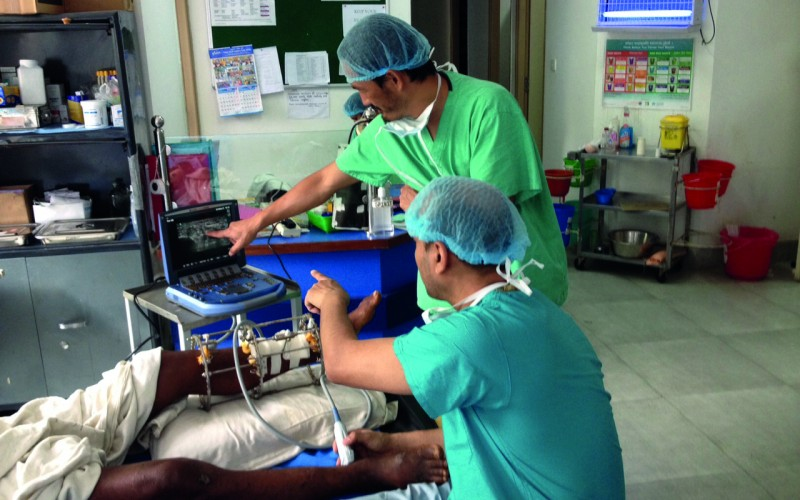 Nepal earthquake victims benefit from ultrasound-guided regional anaesthesia