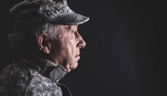 Pain often improves in older veterans