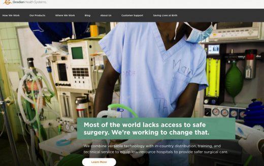 Gradian wins Saving Lives at Birth award