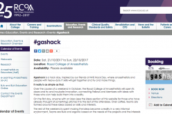 21–22 October 2017; #gashack, London