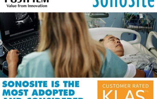 KLAS confirms the popularity of FUJIFILM SonoSite ultrasound systems