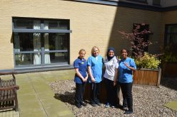 Support for Derby Hospitals Charitable Trust with ICU Garden Appeal