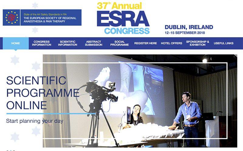12-15 September 2018, ESRA 2018; Dublin
