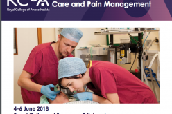 4-6 June 2018, Updates in Anaesthesia, Critical Care and Pain Management; Edinburgh