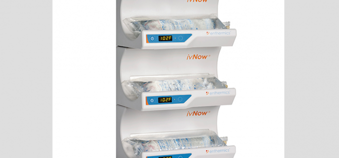 Enthermics ivNow fluid warmers available from Central Medical Supplies