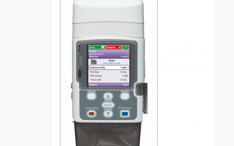 Smiths Medical introduces pain management system with wireless communication capability