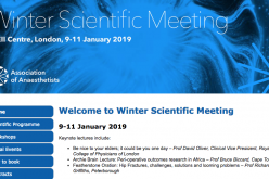 9-11 January 2019, Winter Scientific Meeting; London