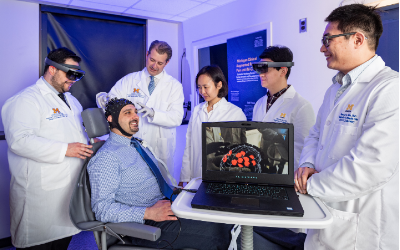 Technology allows researchers to see patients' real-time pain while in the clinic