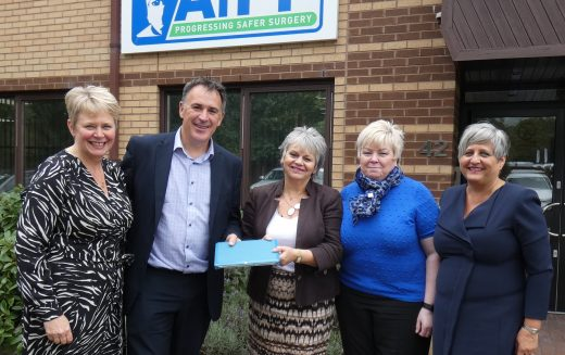 Perioperative charity receive funding to support digital transformation of patient safety tool