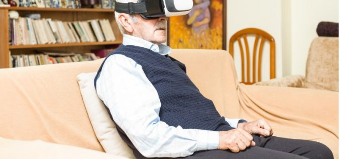 Virtual reality used to help manage pain at London hospice
