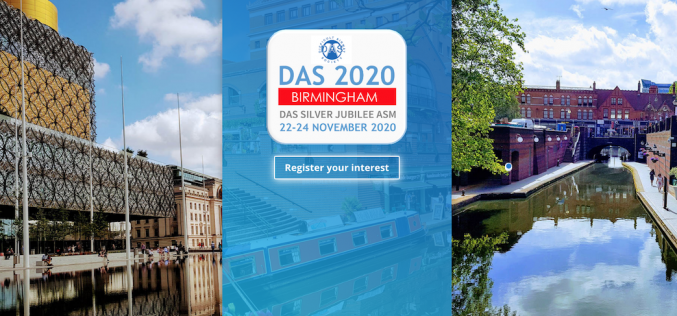 22-24 November 2020, Difficult Airway Society 2020; Birmingham