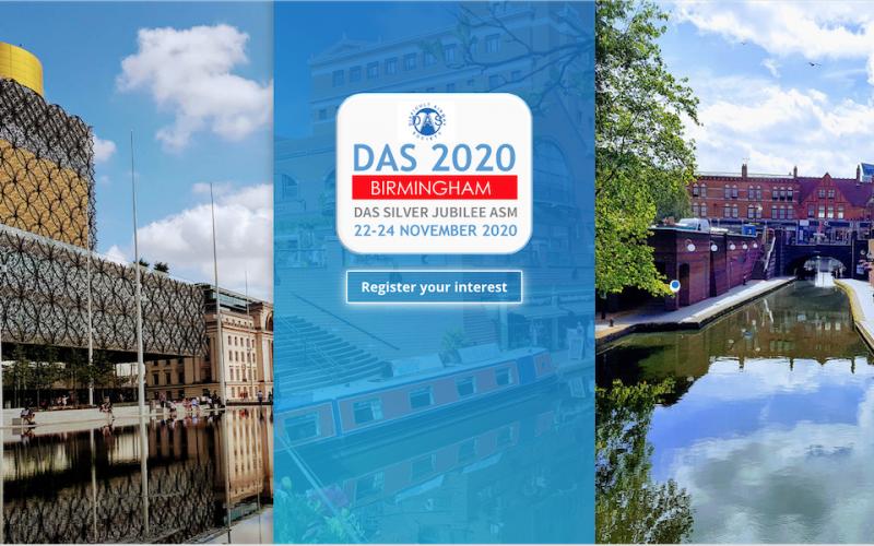 22-24 November 2020, Difficult Airway Society 2020; Birmingham