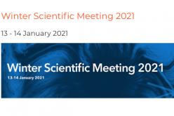 13-14 January 2021, Winter Scientific Meeting 2021; Virtual meeting