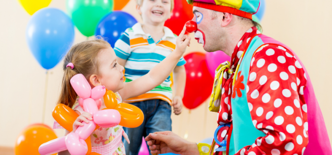 Clowns may help children cope with the pain and anxiety of hospital treatment